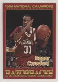 1993-94 Phipps Arkansas Razorbacks - [Base] #ROCR - Roger Crawford