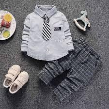 BibiCola <b>boys</b> clothing <b>set 2019 spring</b> formal gentleman 2pcs suit ...