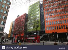 google london office. These Brightly Colored Offices Are Central St Giles Office Development Containing The London Of Google