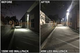 150w hps wall pack led replacement