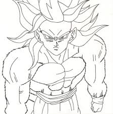 Small Picture Dbz Gogeta Coloring Pages Kids Coloring