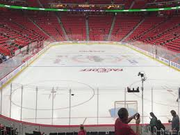 Detroit Red Wings Stadium Seating Chart Little Caesars Arena Section 116 Detroit Red Wings