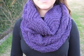 Knitted Infinity Scarf Pattern Amazing Decoration
