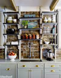 30 Modern Rustic Kitchen Decor Open Shelves Ideas