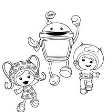 Small Picture Team Umizoomi Geo And Milli Hug Bot In Team Umizoomi Coloring