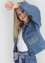 <b>Джинсовая куртка для</b> девочек (GB2W84-D4) купить за 799 руб. в ...
