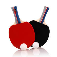 table tennis bats. new 2 pieces/set table tennis rackets ping pong paddle long/short handle double bats