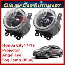 Honda City 2017 2019 2pcs Oem Led Car Fog Lampfog Light Projector