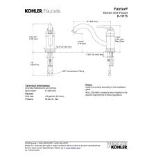 Kohler Revival Kitchen Faucet Kohler Kitchen Faucets Fairfax Parts House Decor