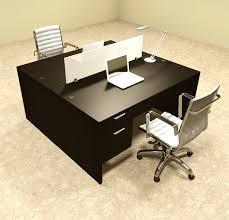 office workstation desks. Two Person Modern Divider Office Workstation Desk Set, #OT-SUL-FP16 Desks