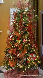 How do you like my tree skirt? It's called the I bought fabric to make a  tree skirt and ran out of time to make it, so I wrapped fabric around the  ...