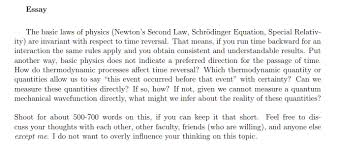 Essay The Basic Laws Of Physics Newtons Second L