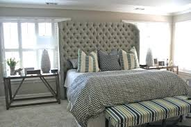... Upholstered Headboard Tufted Full Size Of Bedroom Cool Tall King Large  Skyline Furniture Wingback Q: