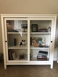 ikea hemnes glass door cabinet for in charlotte nc offerup
