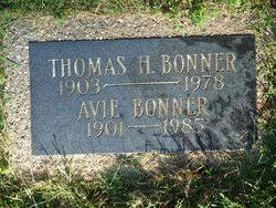 Avie Myrtle Willis Bonner (1901-1985) - Find A Grave Memorial