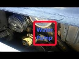 how to change a cat water pump on c7 3126 and c9 engines