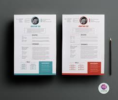 2 Stunning Resume Templates Resume Templates On Thehungryjpeg