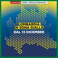 Da domani la Lombardia sarà zona gialla.... - Monte Cremasco Uniti ed  attivi