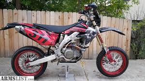 armslist for sale street legal supermoto