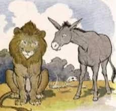 """Semanario Tiempo - LO QUE CIRCULA EN LA RED... NO DISCUTAS CON BURROS ... El  burro le dijo al tigre: """"El pasto es azul"""". El tigre respondió: """"No, el  pasto es verde""""."""
