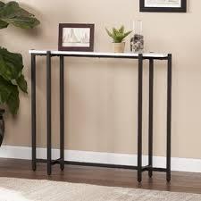 jeske contemporary narrow console table long narrow table64