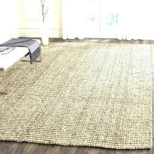 jute rug living room ivory chenille soft target oval herringbone chunky wool round cleaning 6 5x7