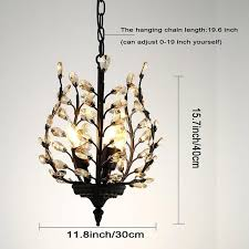 ceiling lights 3 light pendant ceiling lights vintage champagne crystal chandeliers lighting fixtures for living
