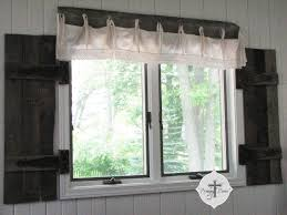 Diy Wood Valance Diy Barn Wood Shutters From Pallets Prodigal Pieces