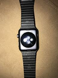 my watchwow got an official apple black leather loop