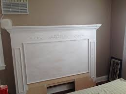 diy projects and ideas for the home fireplace mantle headboardfaux