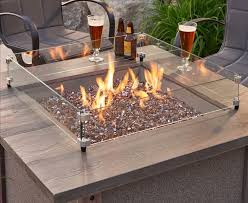 home architecture captivating fire pit glass wind guard of lovely on guards from the outdoor
