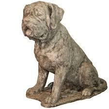 english mastiff dog statue animal