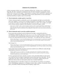 thesis statement examples essays co thesis statement examples essays