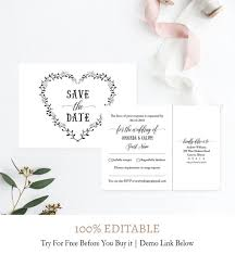 Save The Date Cards Template Rsvp Postcard Diy Save Date Postcard Save The Date Cards Template Editable Template Printable Pdf Template Instant Download Wedding C6