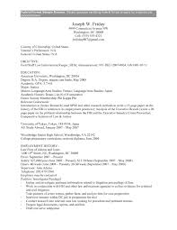 Government Job Resume Examples Resume Format For Government Job Government Job Resume Template 9