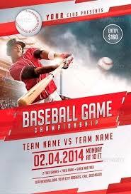 Free Baseball Flyer Template Baseball Flyer Template Templateez Tk