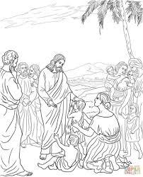 Jezus En Kinderen Kleurplaat Gratis Kleurplaten Printen With With