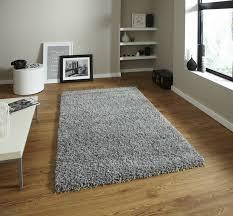 think rugs vista 2236 plain grey rug