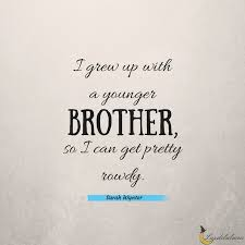 Brother Quotes Adorable 48 Awesome Brother Quotes Luzdelaluna