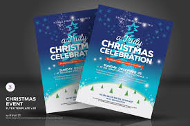christmas event flyer template christmas event truly celebration flyer corporate identity