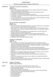 Pharmacy Supervisor Resume Samples Velvet Jobs