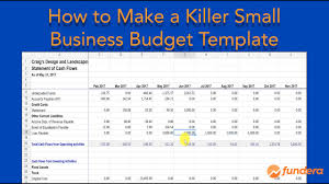 Business Budget Spreadsheet Our Killer Small Business Budget Template Will Save You Time And Money 2019