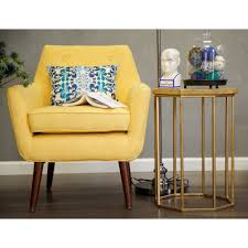 mustard yellow furniture. TOV Furniture Clyde Linen Chair | Mustard Yellow TOV-A38-Y S