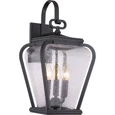 quoizel province mystic black nine inch outdoor wall sconce hover to zoom