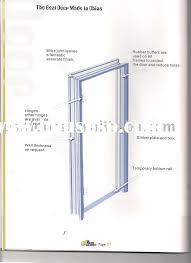 metal door jamb. Aluminum Door Frame Jamb Detail Metal