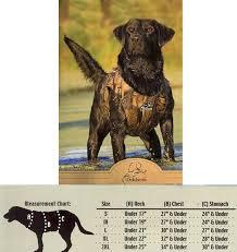 Neoprene Dog Vest Size Chart Dokken Extreme 3mm Neoprene Supervest Special Order 7 10