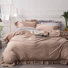 light tan duvet cover set cotton ruffle bedding sets for s of cloud print bedding sets