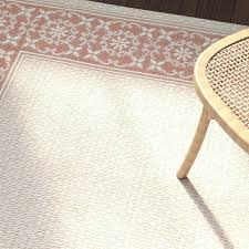 new martha stewart indoor outdoor rugs indoor outdoor rugs amaryllis cream terracotta indoor outdoor rug target