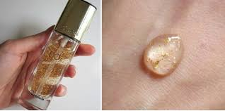 guerlain l or pure radiance face primer concentrate with pure gold review