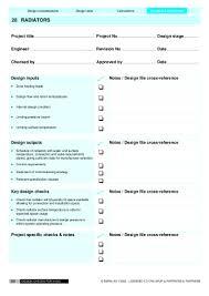 Design System Checklist Hvac Design Checklist